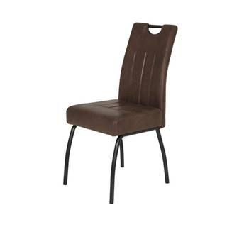 Jedálenská stolička BEATE S hnedá